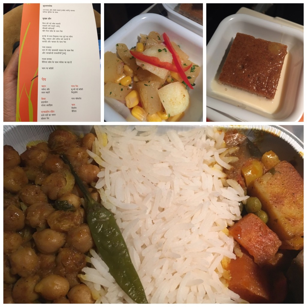 Don't miss the menu ...in Hindi!