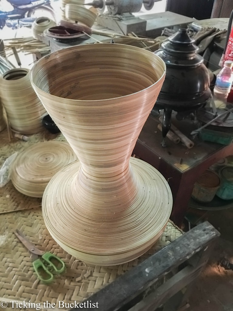 Bamboo ware...all set to turn into lacquerware