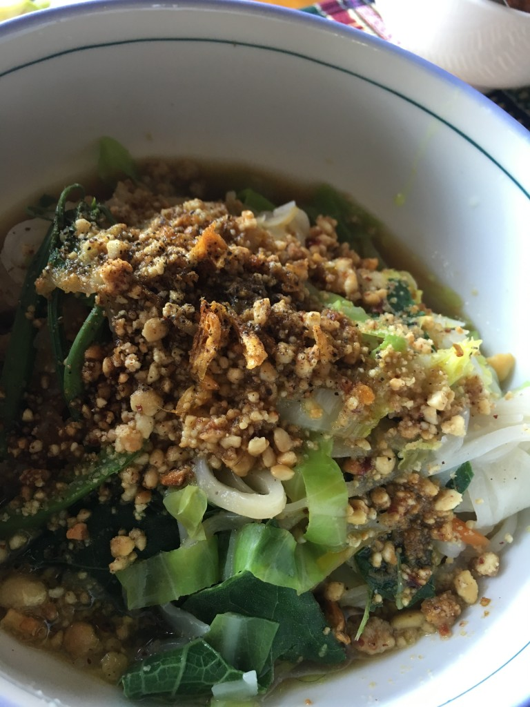 Yummy Shan noodles...in the Shan state!
