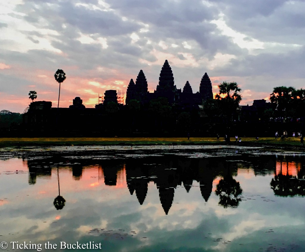 The quintessential Ankgor Wat sunrise