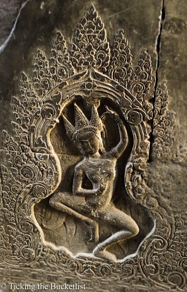 Carvings in sandstone