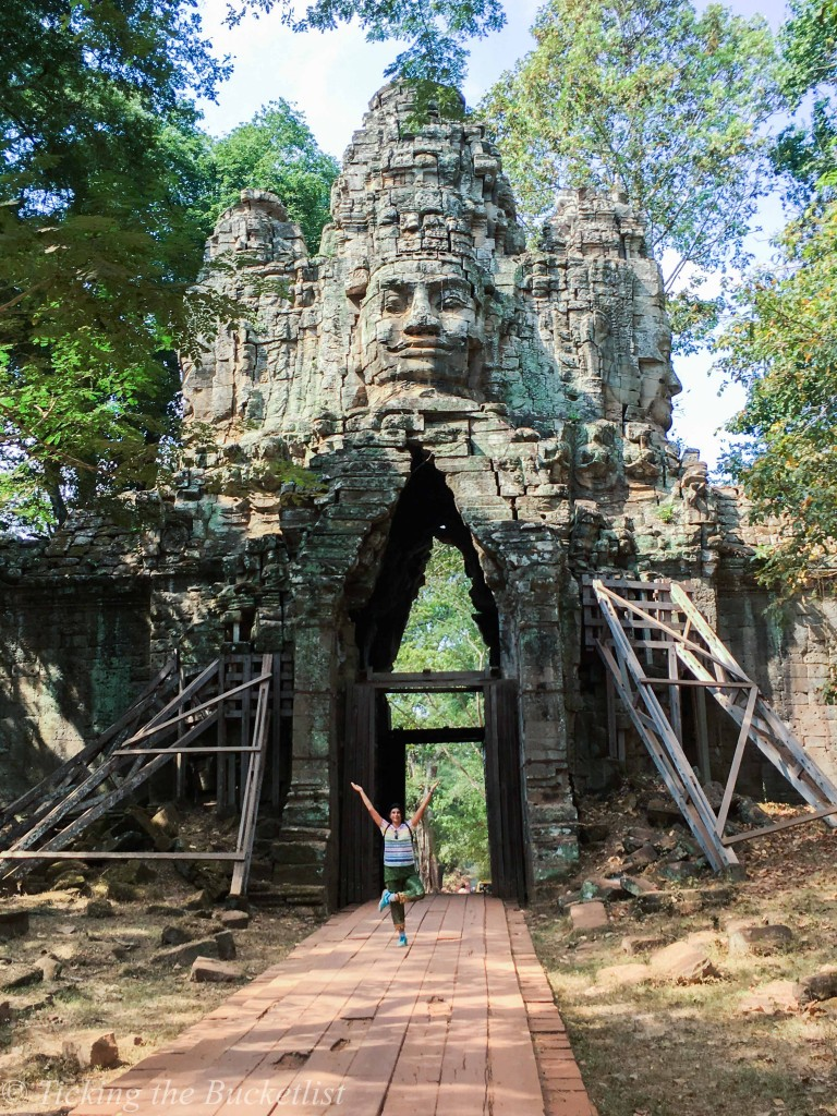 When all the tourists are at the Angkor Wat, its time to hit Angkor Thom!