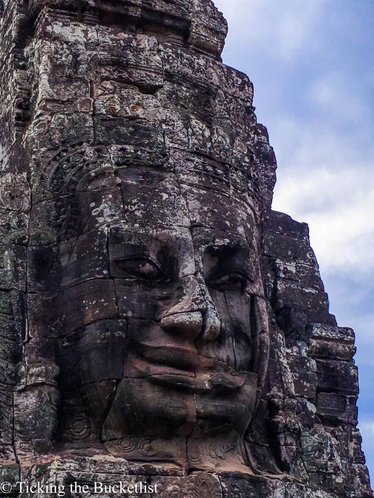 Faces of Bayon....