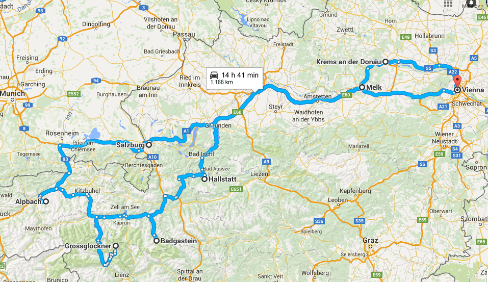 Ten days road trip through Austria...