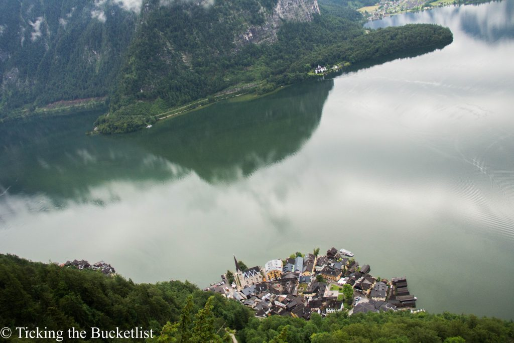 Hallstatt from up above