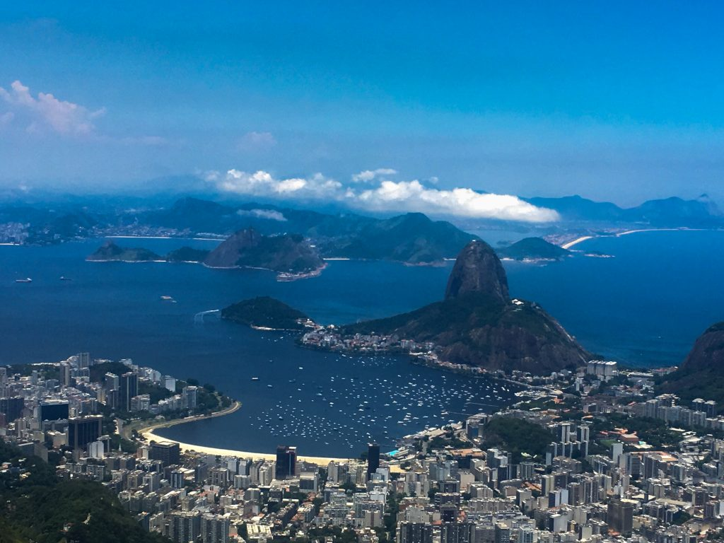 Rio from up above